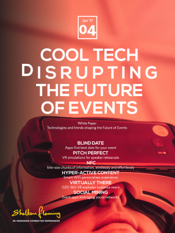 Cool tech disrupting the future of events