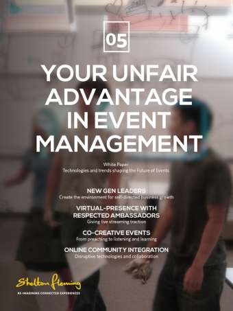 Your unfair advantage in event management