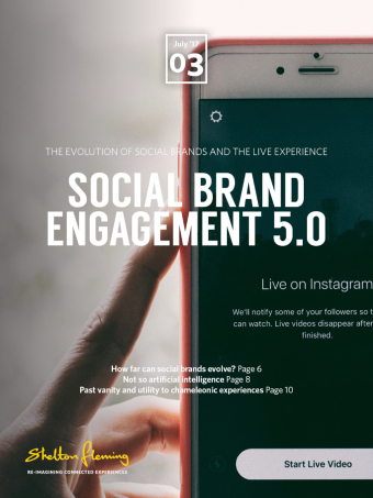 Evolution of social brands and live experiences